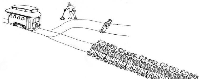 trolley problem moral philosophy ethics